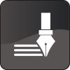 Copywriting icon mono