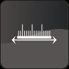 Marketing project management icon mono