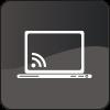 Website copywriting services icon mono
