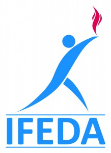 IFEDA logo master colour less white surround